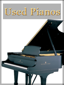 Used Piano Home Manufacturers Box